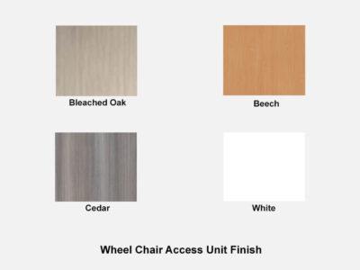 Bienvenue Wheel Chair Access Unit Finish