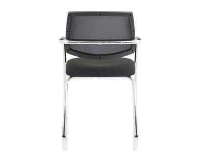Calix 1 Black Mesh Straight Leg Visitor Chair2