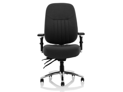 Citra Deluxe Black Operator Chair Fabric1