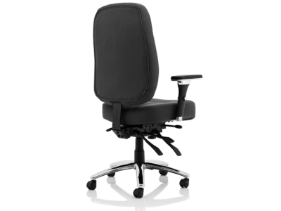 Citra Deluxe Black Operator Chair Fabric2