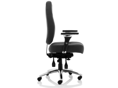 Citra Deluxe Black Operator Chair Fabric3