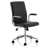 Danny Executive Leather Chair Black2