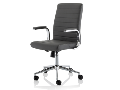 Danny Executive Leather Chair Grey1