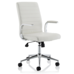 Danny Executive Leather Chair White1