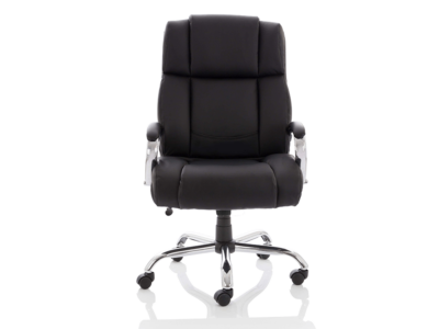 Drusilla Hd Leather High Black Chair With Arms1