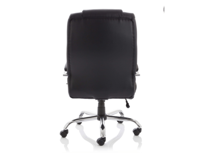 Drusilla Hd Leather High Black Chair With Arms3