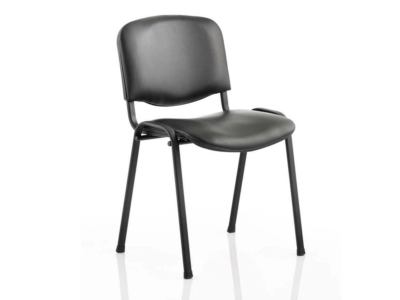 Eloisa Medium Black Stacking Chair Without Arms3