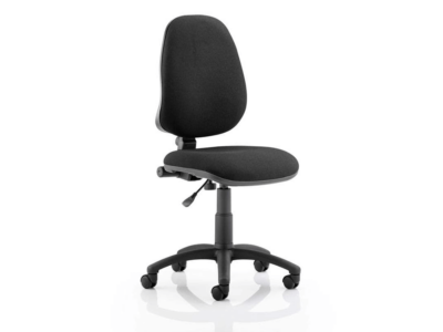 Fiamma High Back Black Operator Chair2