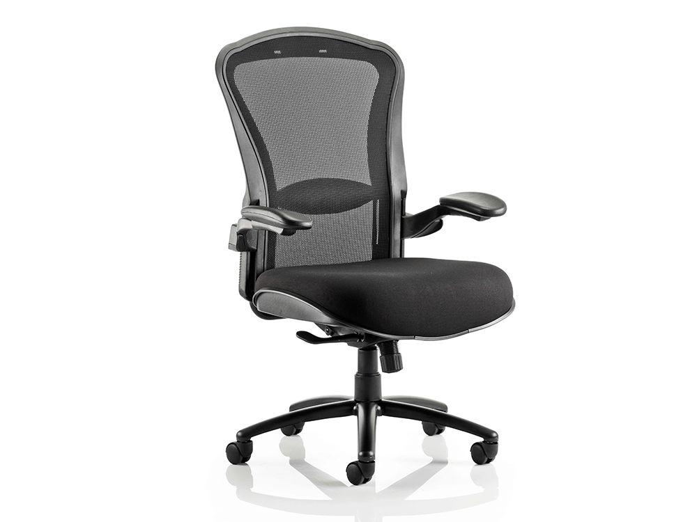 Fiorella Mesh Back With Fabric Seat Operator Chair With Arms