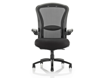 Fiorella Mesh Back With Fabric Seat Operator Chair With Arms1