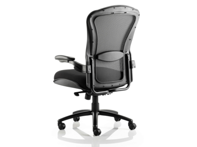 Fiorella Mesh Back With Fabric Seat Operator Chair With Arms2