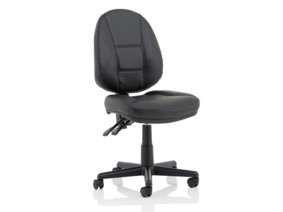 Flavia Black Leather High Back Executive Chair2