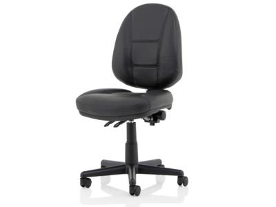 Flavia Black Leather High Back Executive Chair4