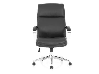 Jalie Black Leather Executive Chair 1