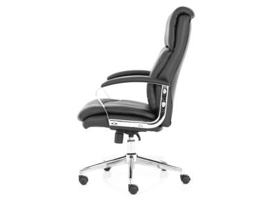 Jalie Black Leather Executive Chair 2