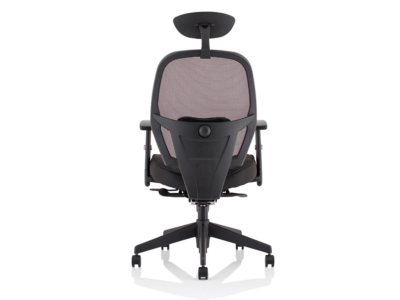 Luciana Medium Black Mesh Chair With Arms5