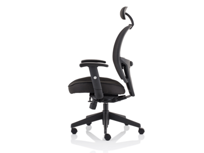 Luciana Medium Black Mesh Chair With Arms7