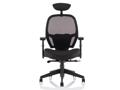Luciana Medium Black Mesh Chair With Arms8