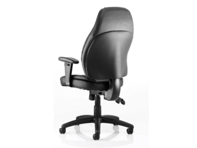 Lucinda Medium Black Operator Chair With Arms1