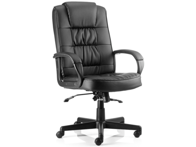 Mallow Black Executive With Arms