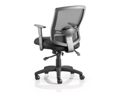 Oregon 2 Black Mesh Operator Chair With Arms1