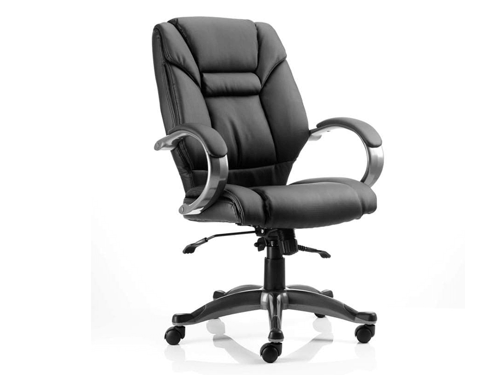 Orsen Executive Chair Black With Arms