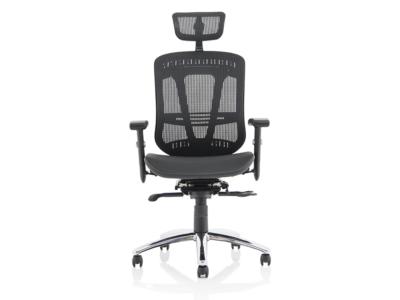 Rennie Black Mesh Executive Chair With Headrest1