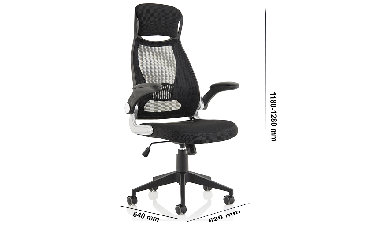 Size Daiva Mesh & High Back Executive Chair