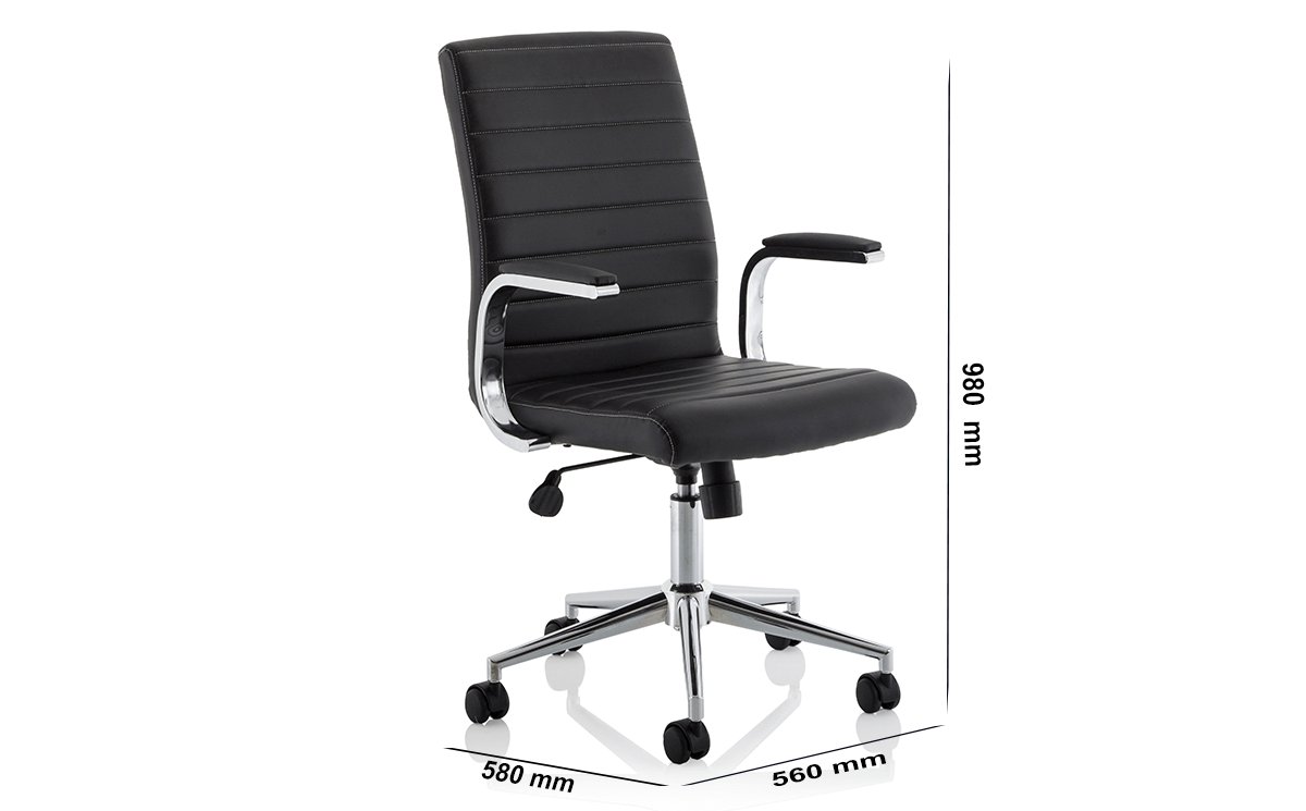 Size Danny Executive Leather Chair