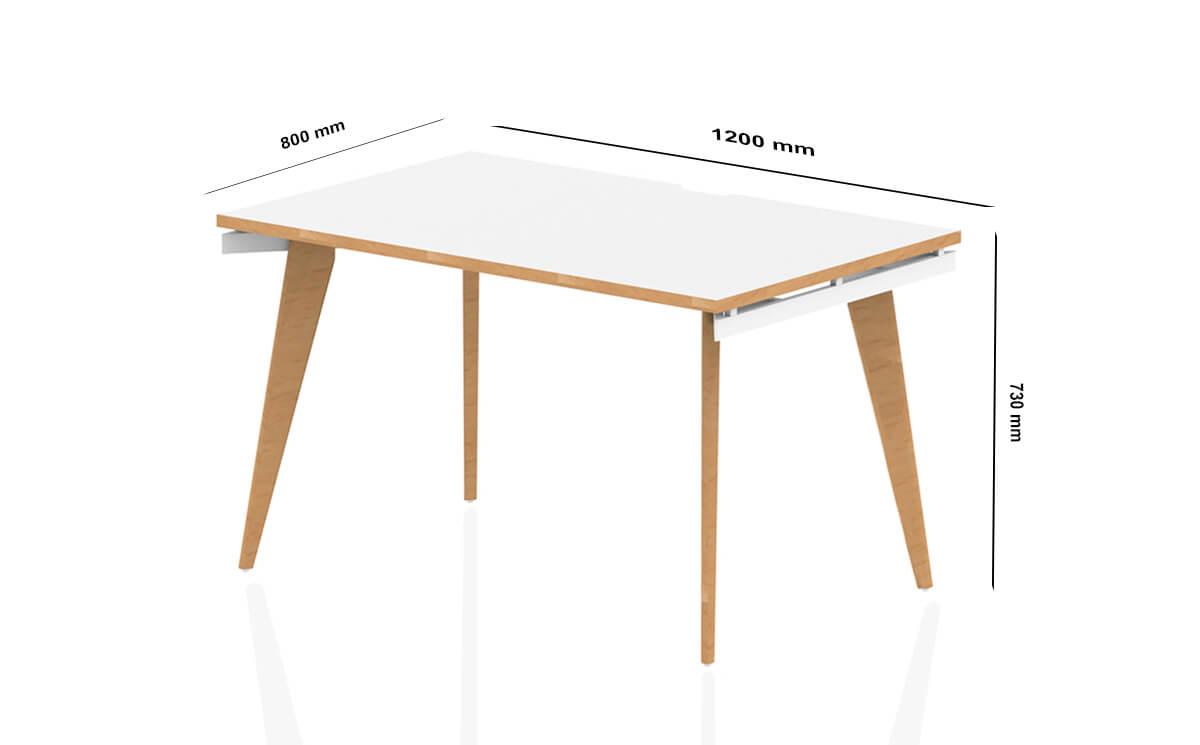 Size Donni Single Starter Desk