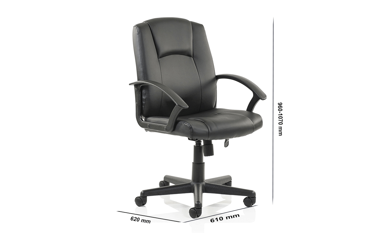 Size Enrica Leather Executive Managers Chair Leather