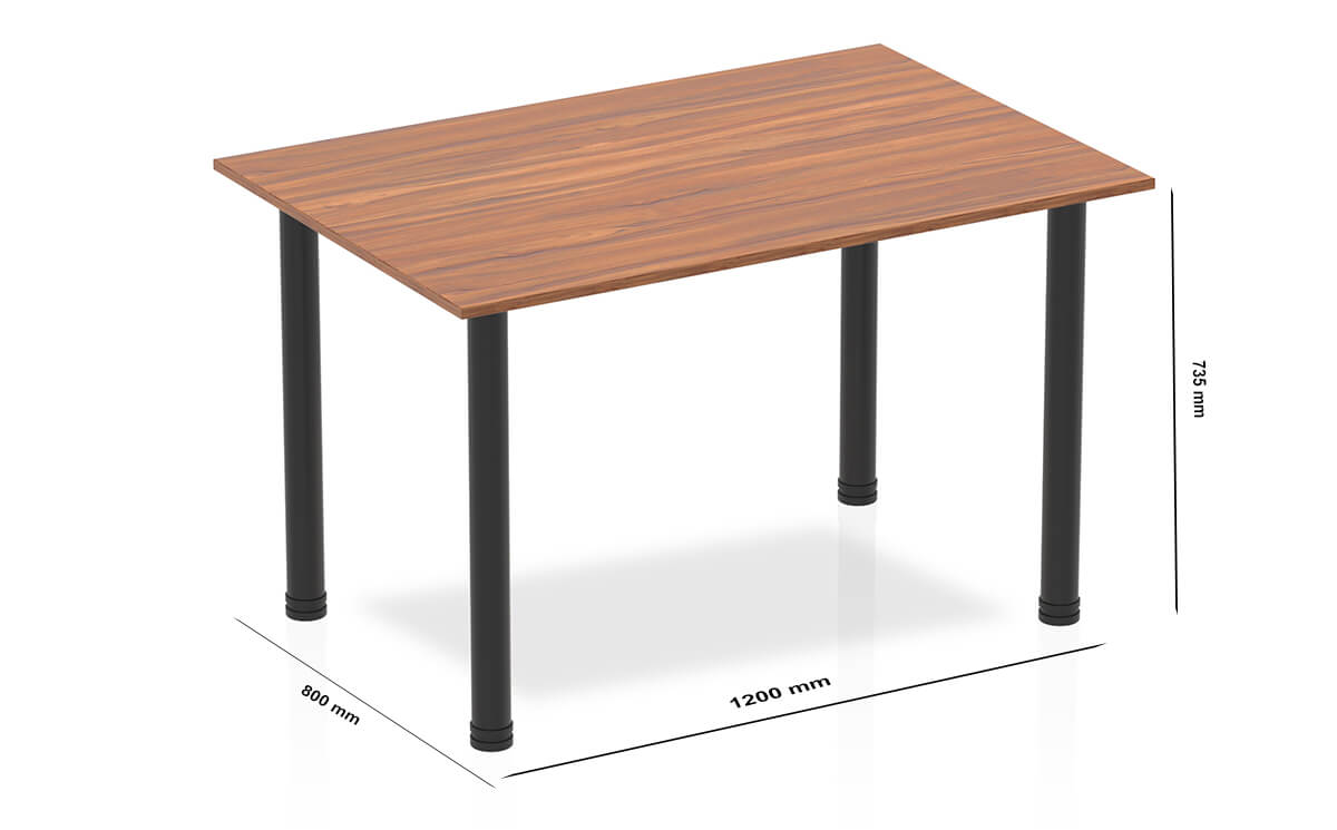 Size Etta Straight Table