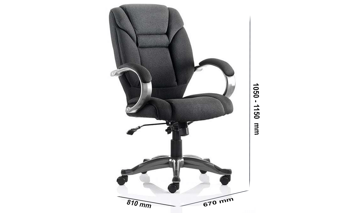 Size Orsen Executive Chair Black With Arms