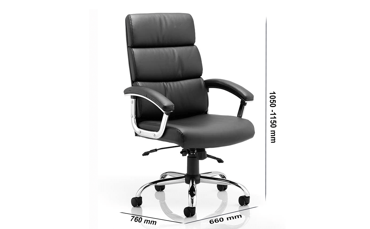 Size Pixie Executive Chair With Arms With Headrest