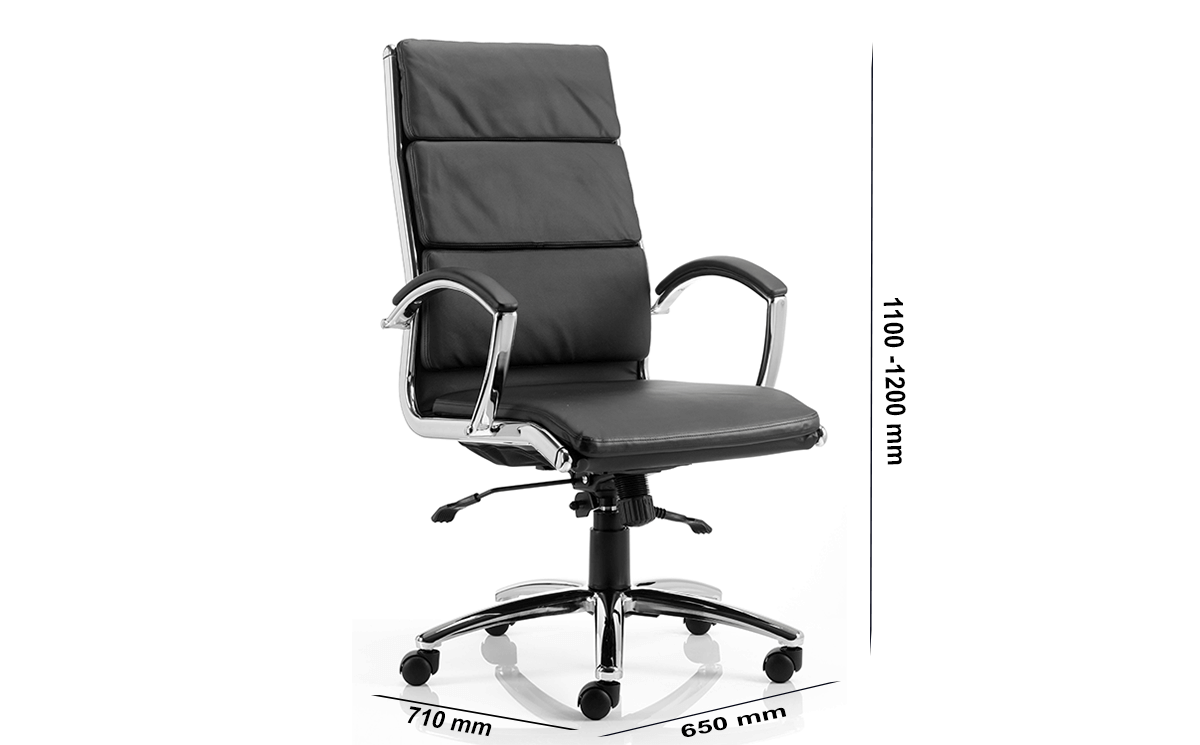 Size Siena High Back Executive Chair With Arms