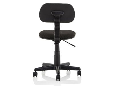 Vonda Black Fabric Typist Chair1