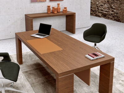 Alcee Executive Desk With Optional Credenza Unit 1