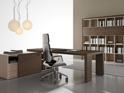 Alcee Executive Desk With Optional Credenza Unit 3