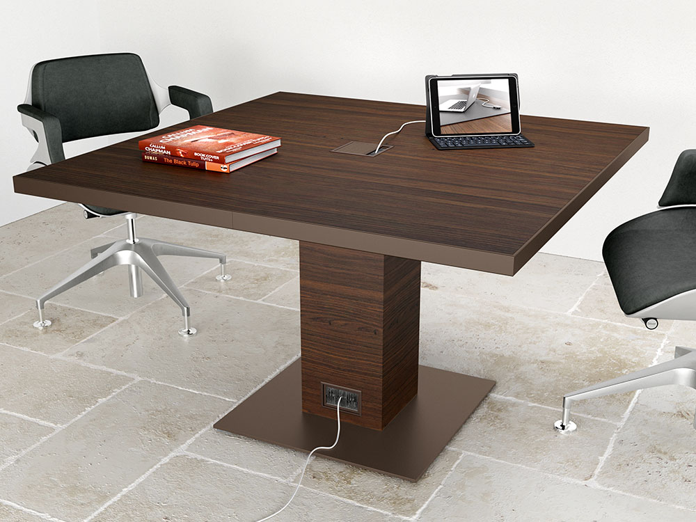 Antioch 3 Square Meeting Room Table Main Image
