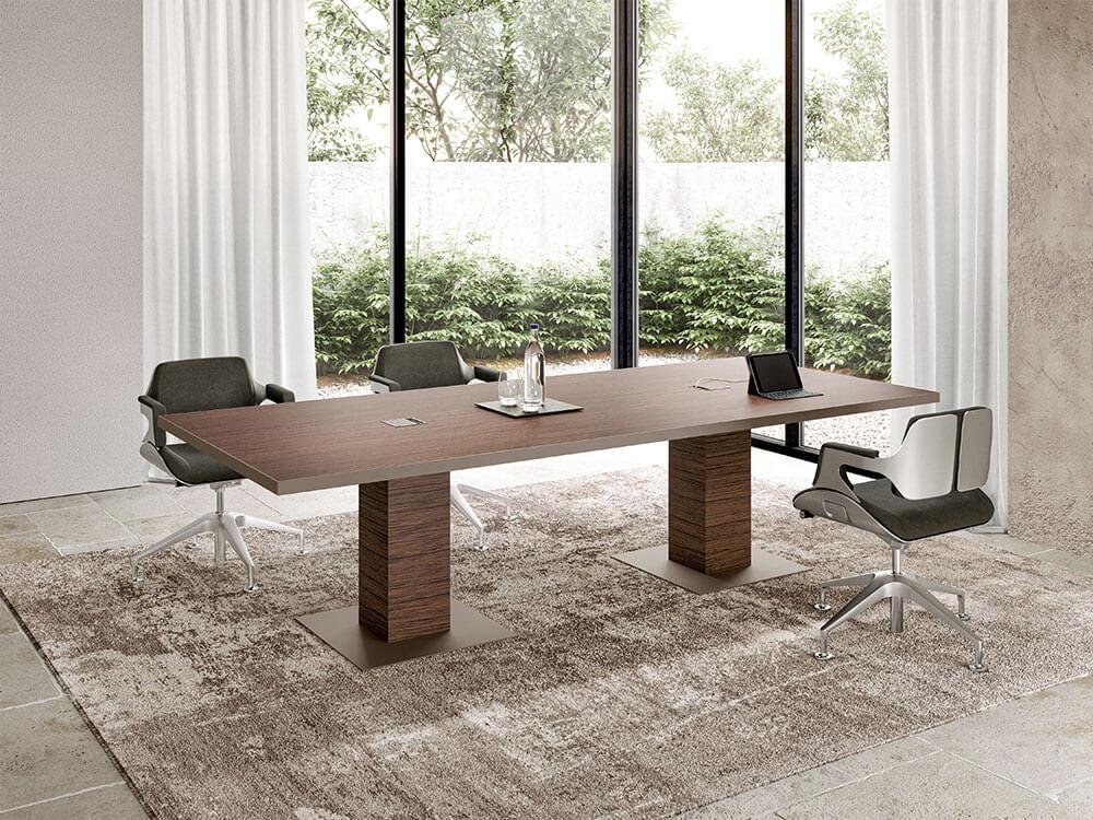 Antioch 4 Rectangular Meeting Room Table Main Image