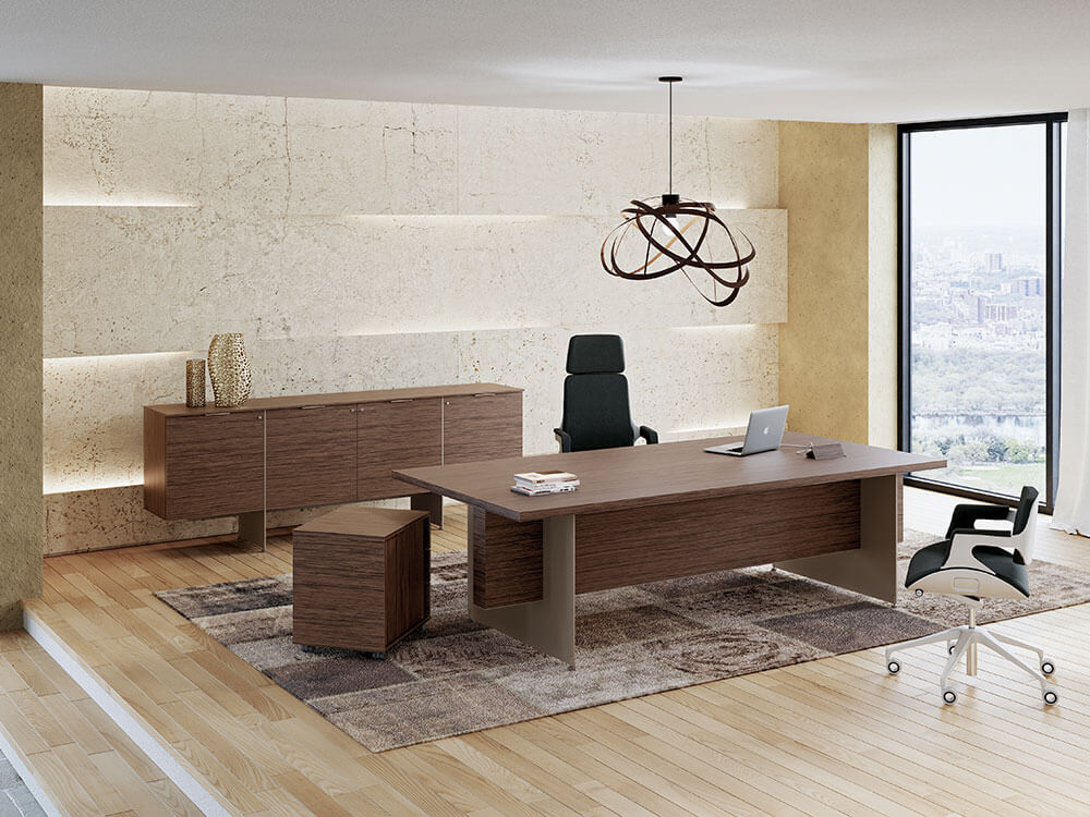 Antioch Executive Desk With Modesty Panel Main Image