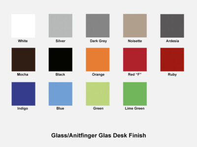 Glass Finish Swatches