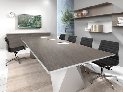Prime 3 Meeting Room Table With Double Base 1