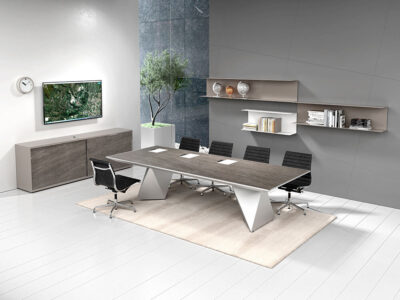 Prime 3 Meeting Room Table With Double Base Main Image