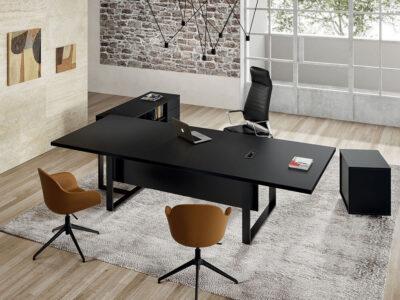 Romilda 3 T Shaped Legs Meeting Room Table Main Image