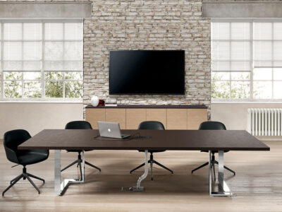 Romilda 4 Rectangular Meeting Room Table 1