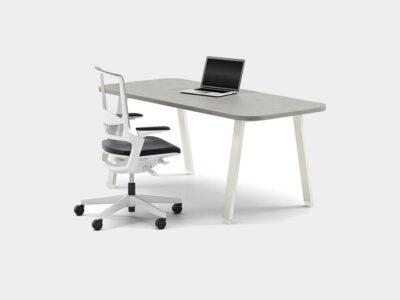 Carita 1 A Legs Executive Desk With Optional Modesty Panel And Credenza Unit Main Image
