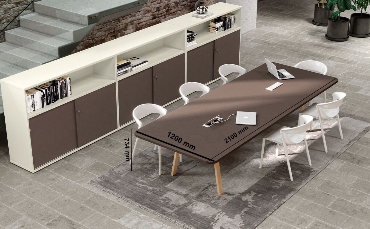 Don 4 A Legs Meeting Room Table Desk Size