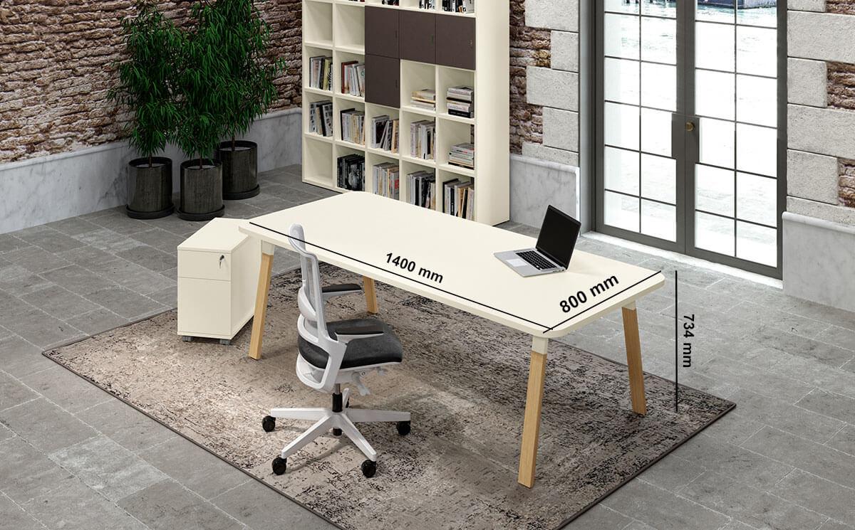 Don A Legs Executive Desk Desk Size