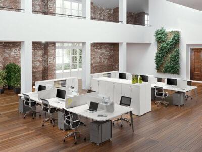 Donati 4 Back To Back Operational Office Desk 4
